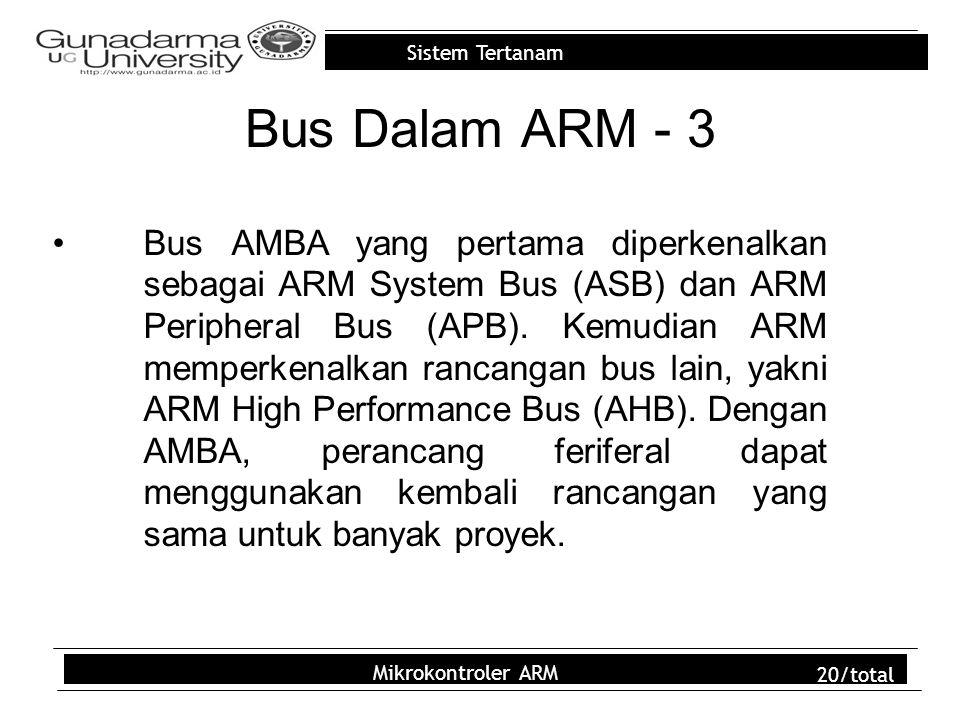 Bus Dalam ARM - 3