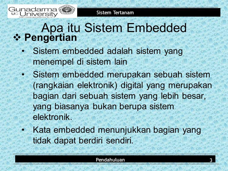 Apa itu Sistem Embedded