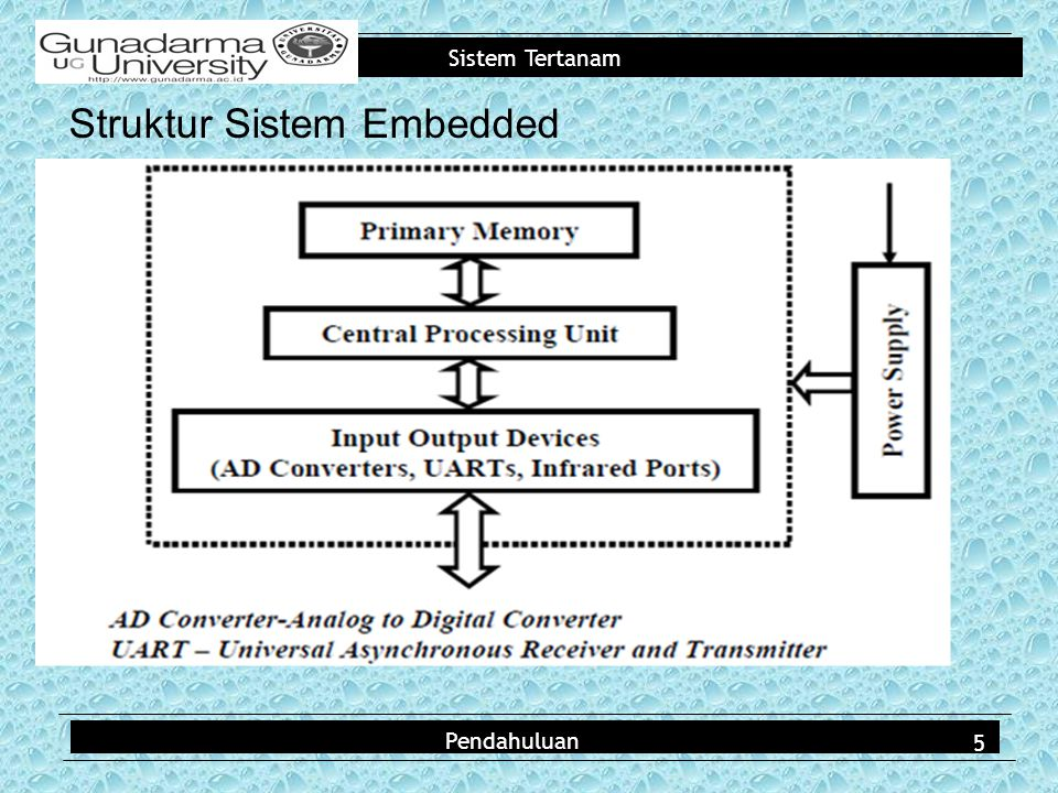 Struktur Sistem Embedded