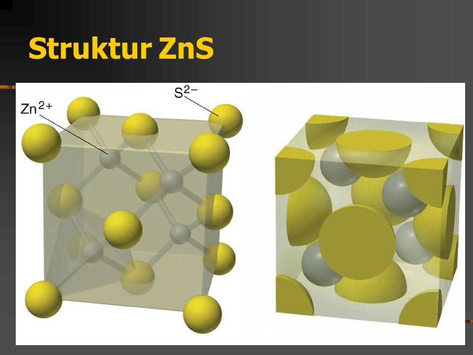 Struktur ZnS