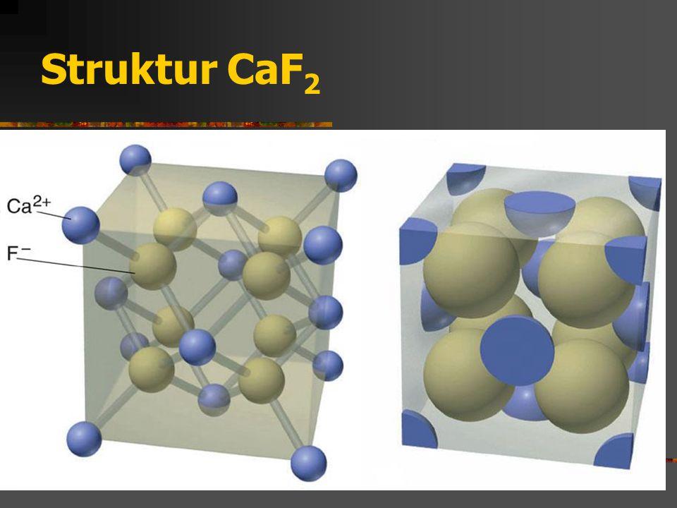 Struktur CaF2
