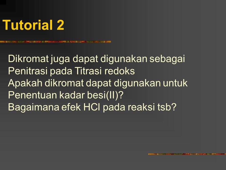 Tutorial 2 Dikromat juga dapat digunakan sebagai