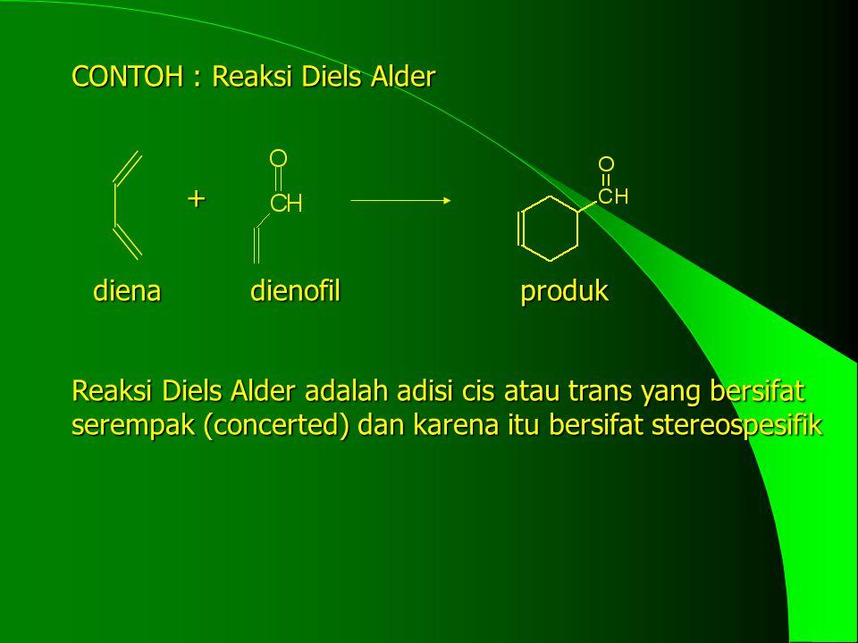 CONTOH : Reaksi Diels Alder