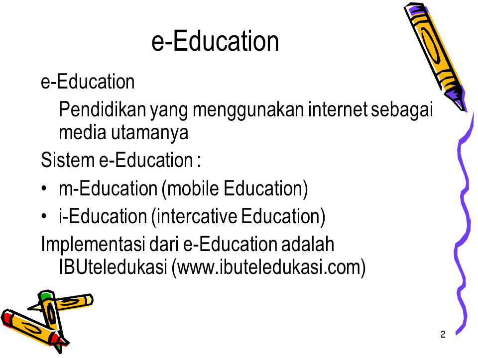 e-Education e-Education