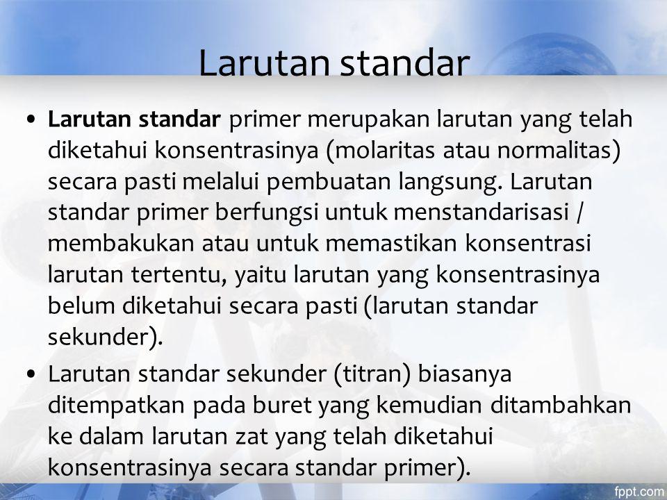 Larutan standar