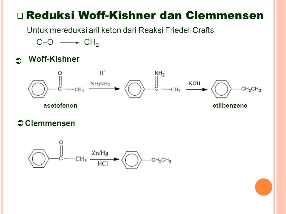 Reduksi Woff-Kishner dan Clemmensen