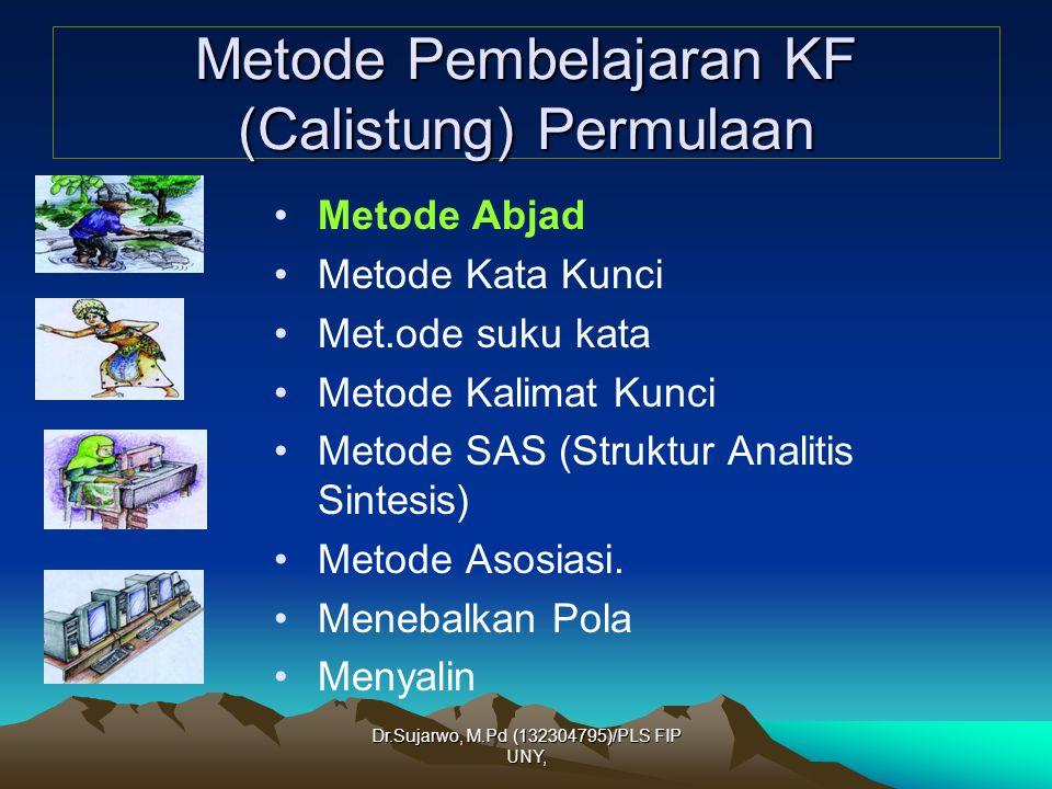 Metode Pembelajaran KF (Calistung) Permulaan