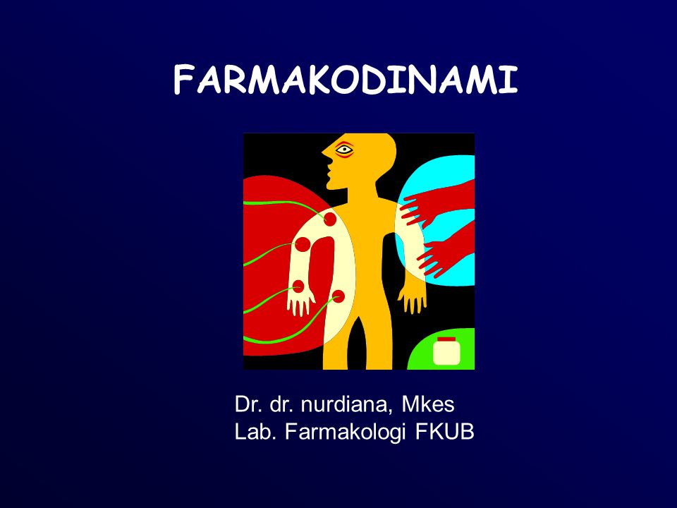 FARMAKODINAMI Dr. dr. nurdiana, Mkes Lab. Farmakologi FKUB