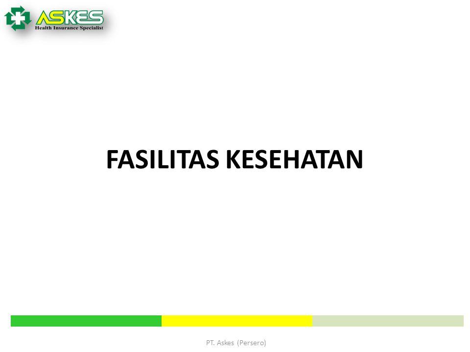 FASILITAS KESEHATAN PT. Askes (Persero) PT Askes (Persero)