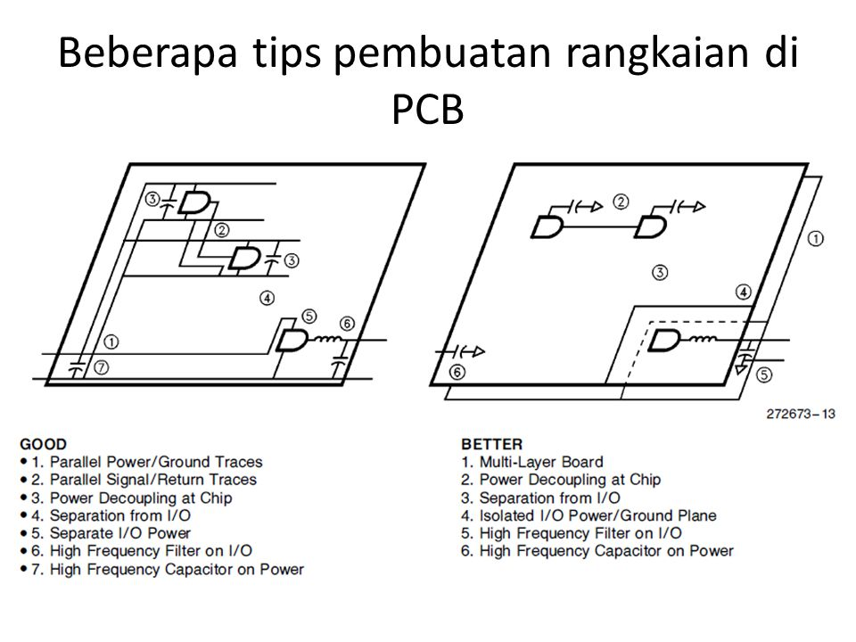 Beberapa tips pembuatan rangkaian di PCB