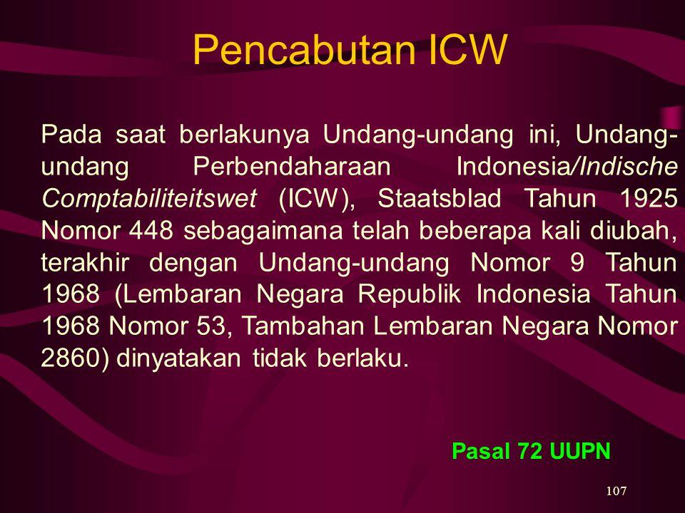 Pencabutan ICW
