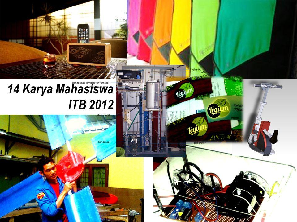 14 Karya Mahasiswa ITB 2012