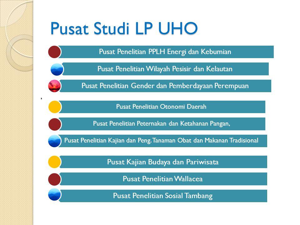 Pusat Studi LP UHO , Pusat Penelitian PPLH Energi dan Kebumian