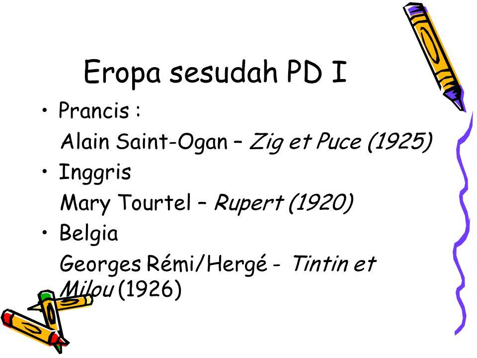 Eropa sesudah PD I Prancis : Alain Saint-Ogan – Zig et Puce (1925)