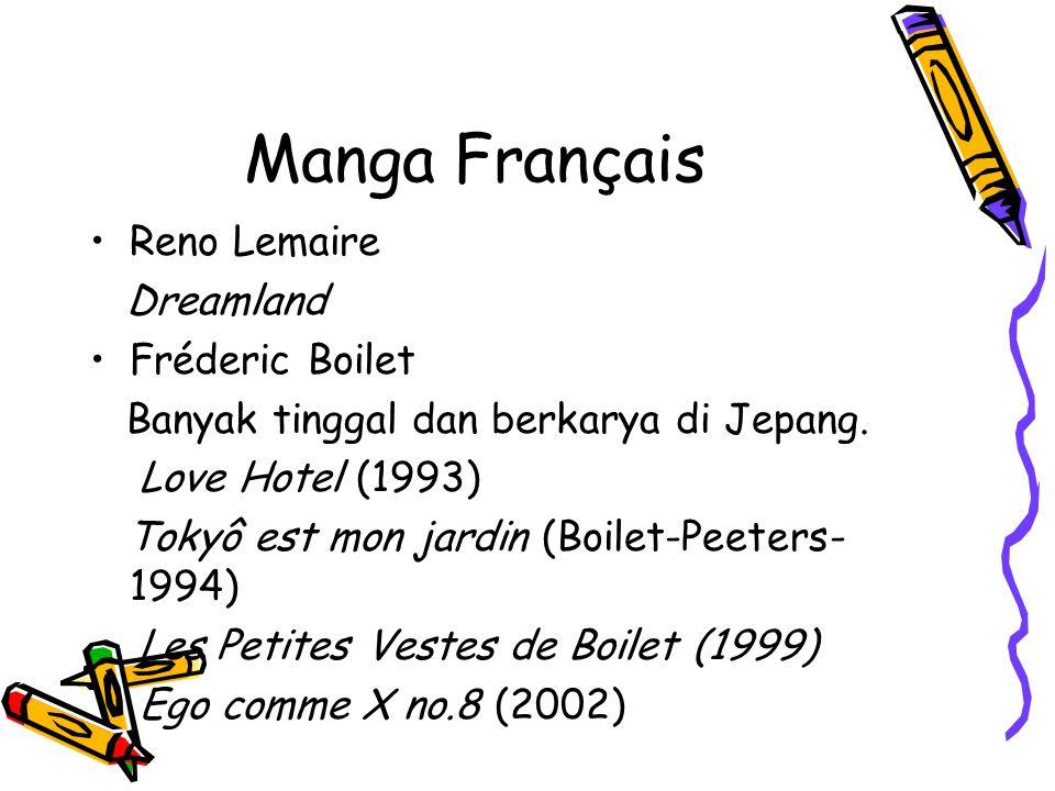Manga Français Reno Lemaire Dreamland Fréderic Boilet