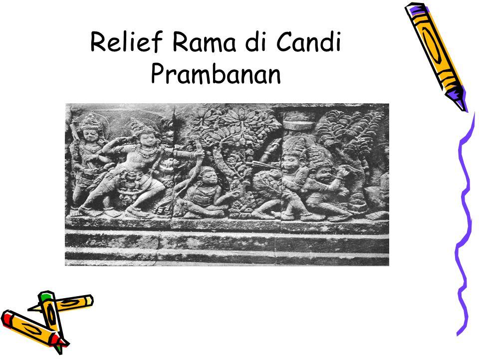 Relief Rama di Candi Prambanan