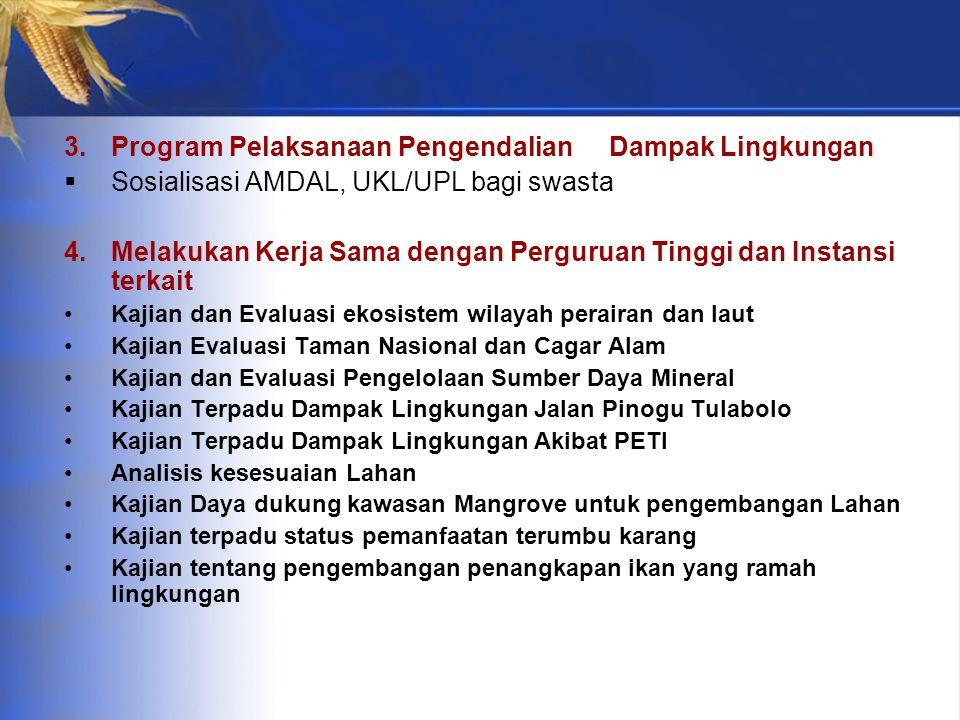 Program Pelaksanaan Pengendalian Dampak Lingkungan