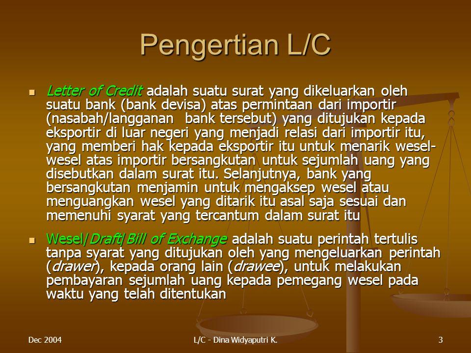 Pengertian L/C
