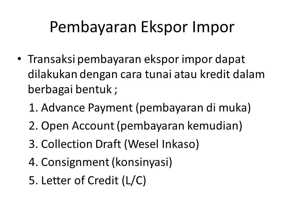 Pembayaran Ekspor Impor