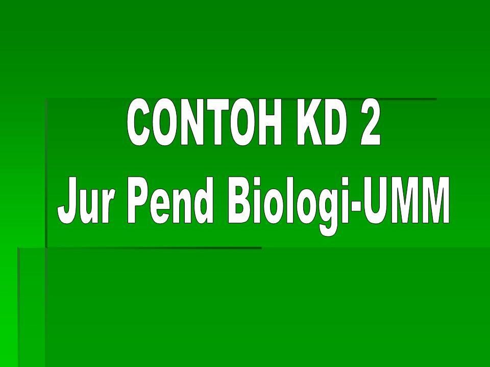 CONTOH KD 2 Jur Pend Biologi-UMM