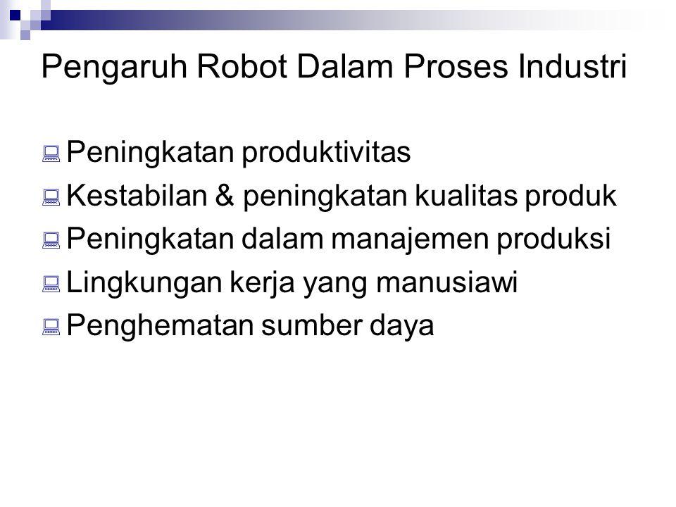 Pengaruh Robot Dalam Proses Industri