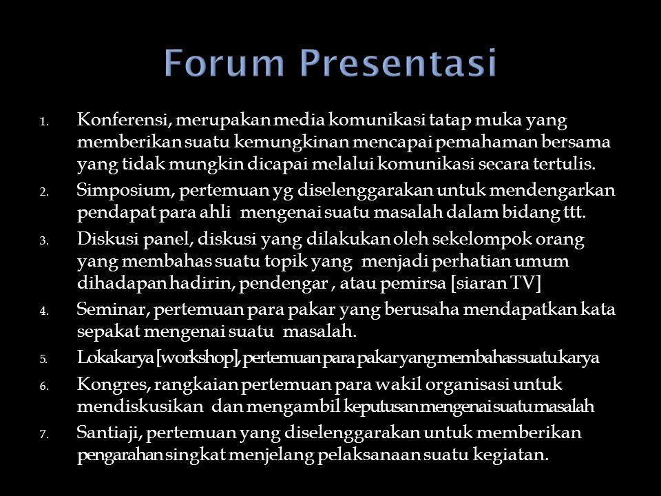 Forum Presentasi