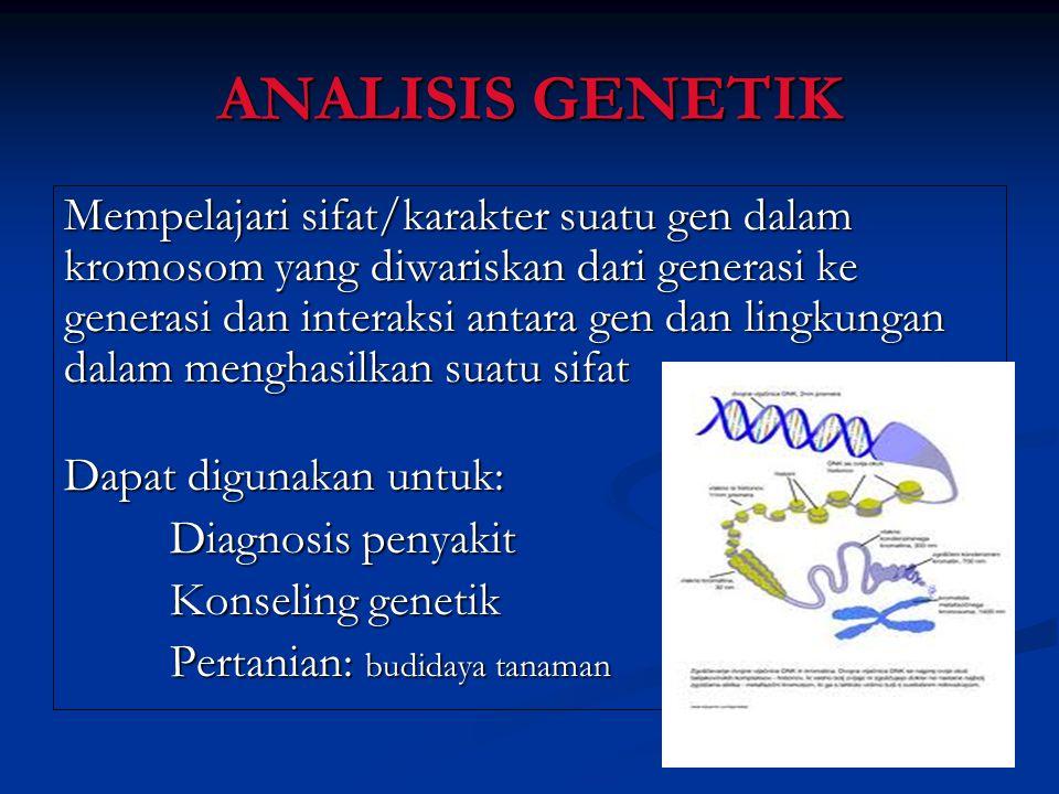 ANALISIS GENETIK