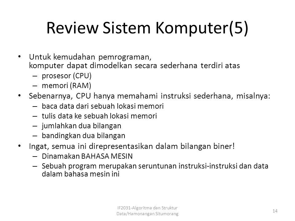 Review Sistem Komputer(5)