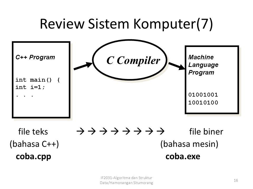 Review Sistem Komputer(7)