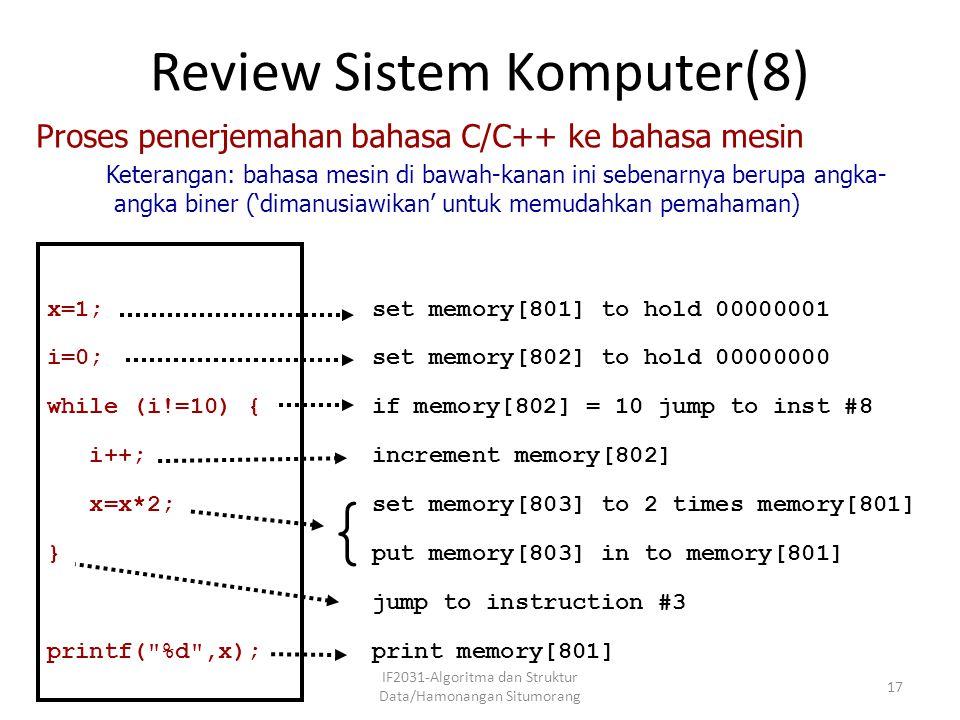 Review Sistem Komputer(8)