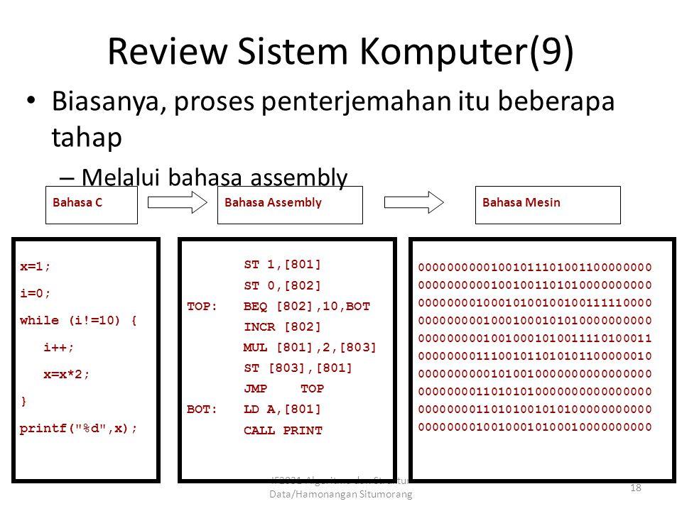 Review Sistem Komputer(9)