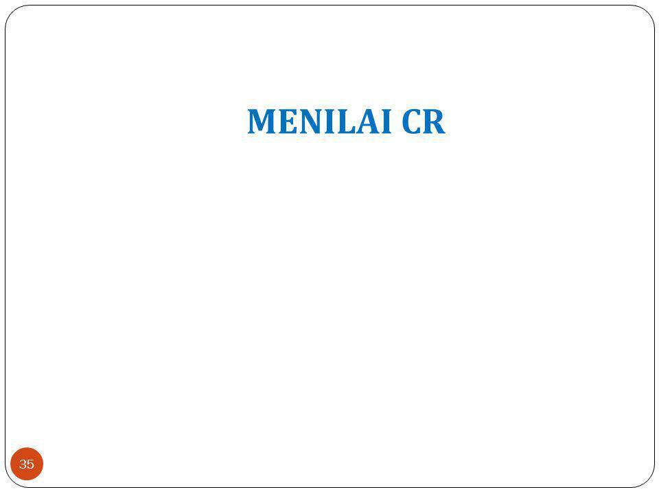 MENILAI CR