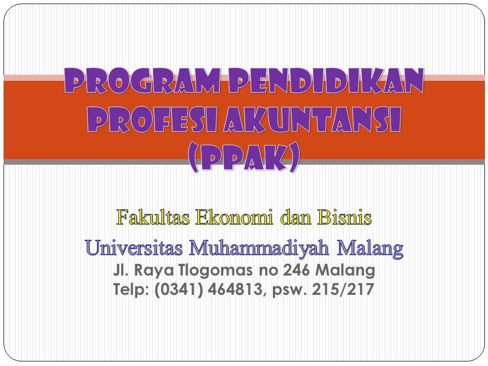 Program Pendidikan Profesi Akuntansi (PPAK)