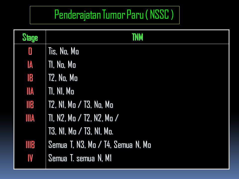Penderajatan Tumor Paru ( NSSC )