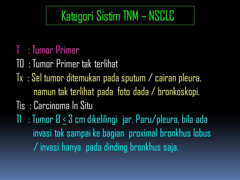 Kategori Sistim TNM – NSCLC