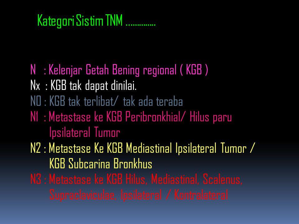 Kategori Sistim TNM ..............