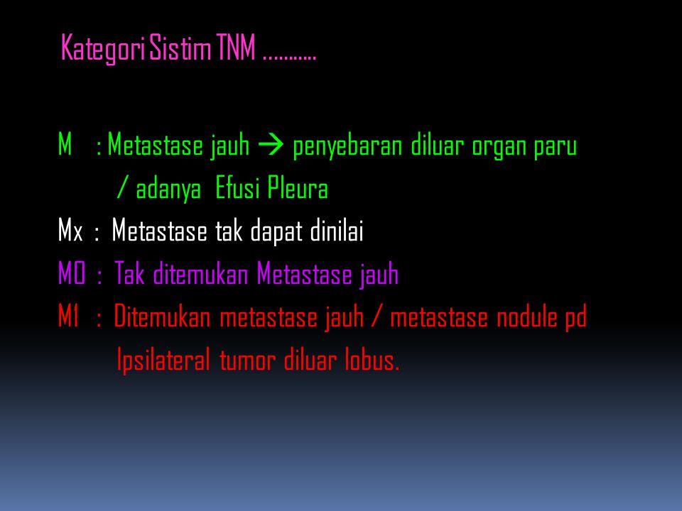 Kategori Sistim TNM ...........