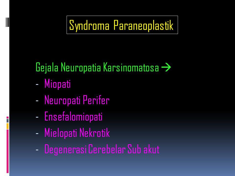 Syndroma Paraneoplastik