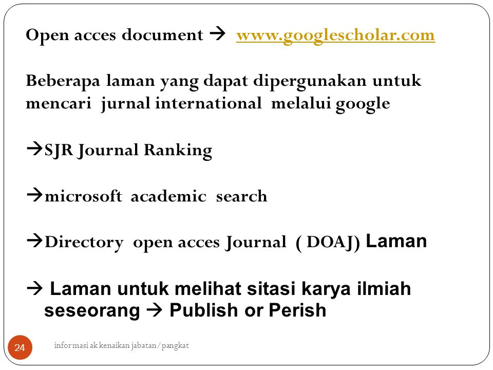 Open acces document  www.googlescholar.com