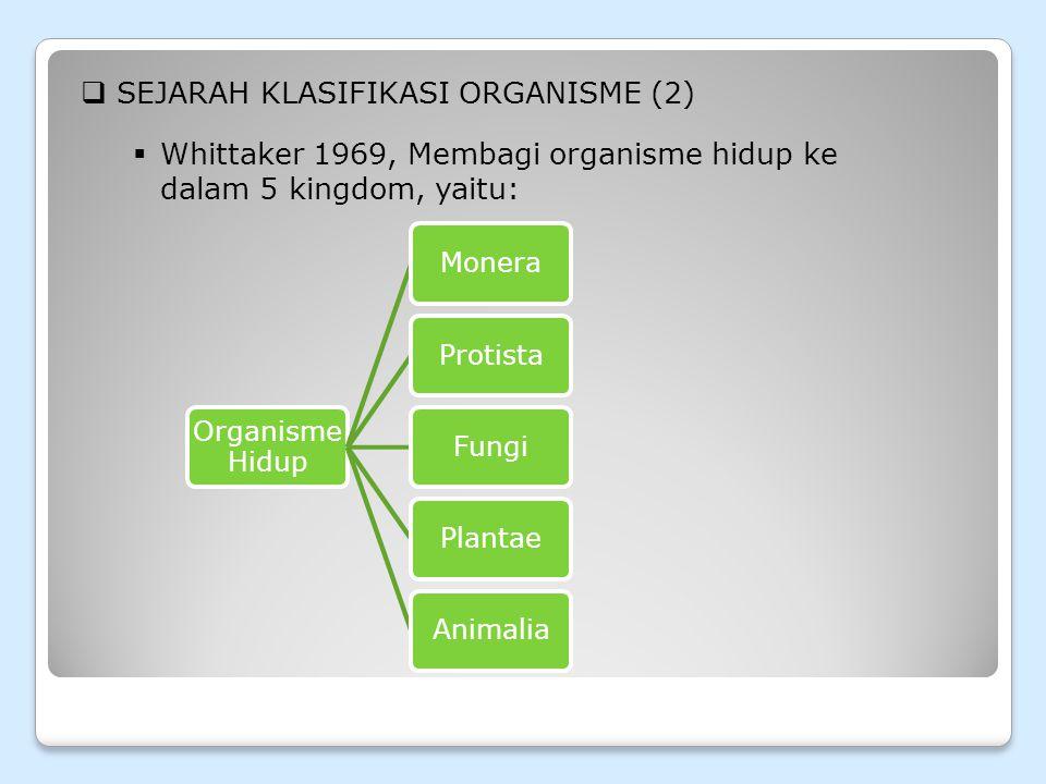 SEJARAH KLASIFIKASI ORGANISME (2)