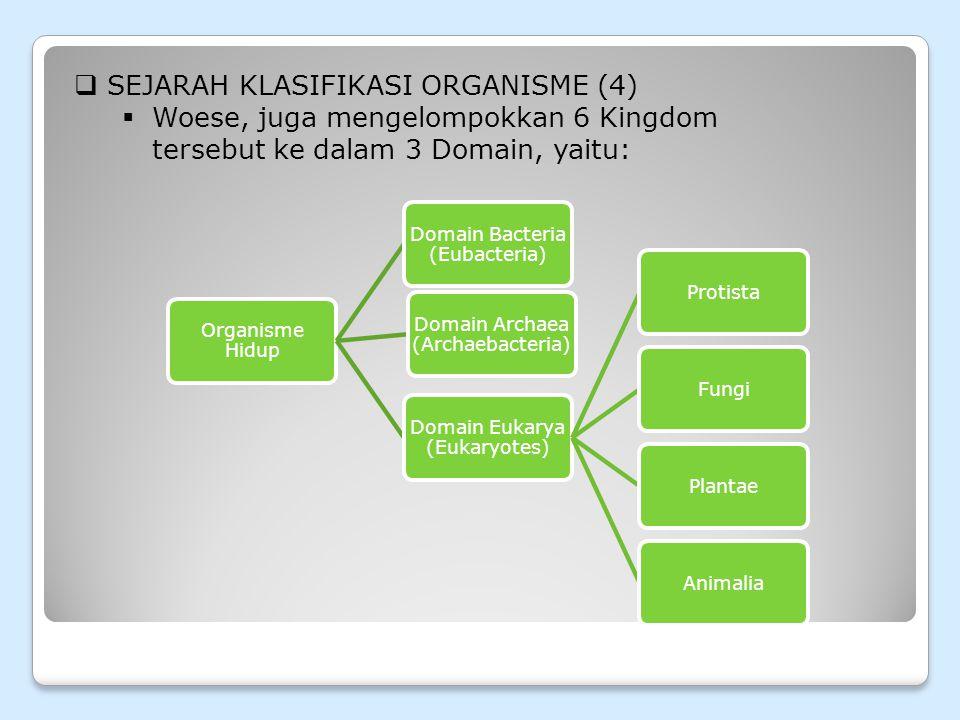 SEJARAH KLASIFIKASI ORGANISME (4)