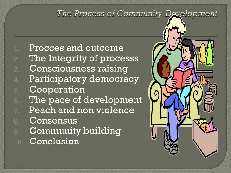 The Process of Community Development