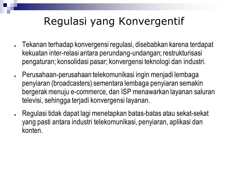 Regulasi yang Konvergentif