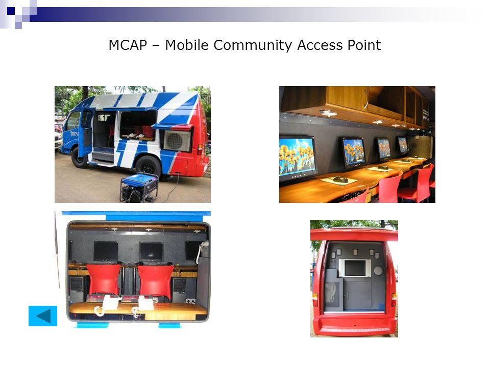 MCAP – Mobile Community Access Point