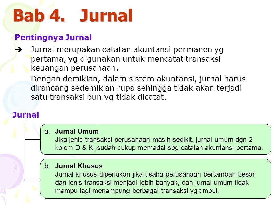 Bab 4. Jurnal Pentingnya Jurnal