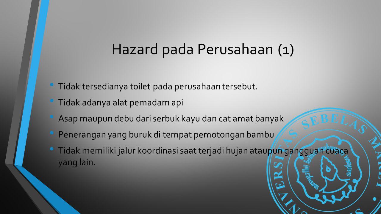 Hazard pada Perusahaan (1)