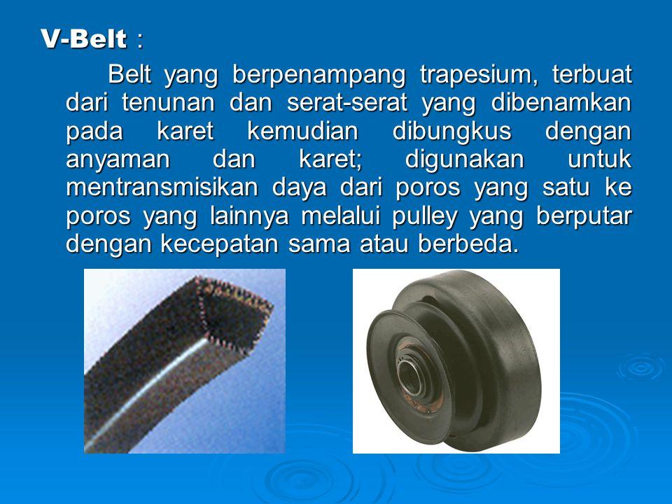 V-Belt :