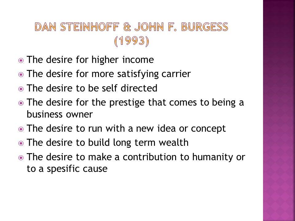 Dan steinhoff & john f. burgess (1993)