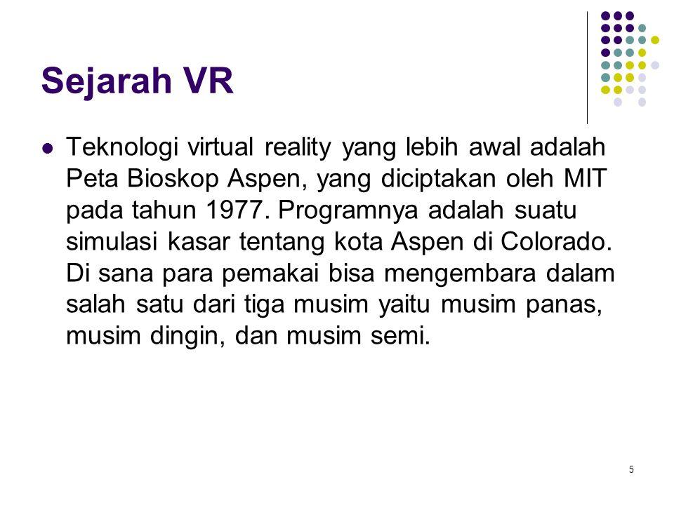 Sejarah VR