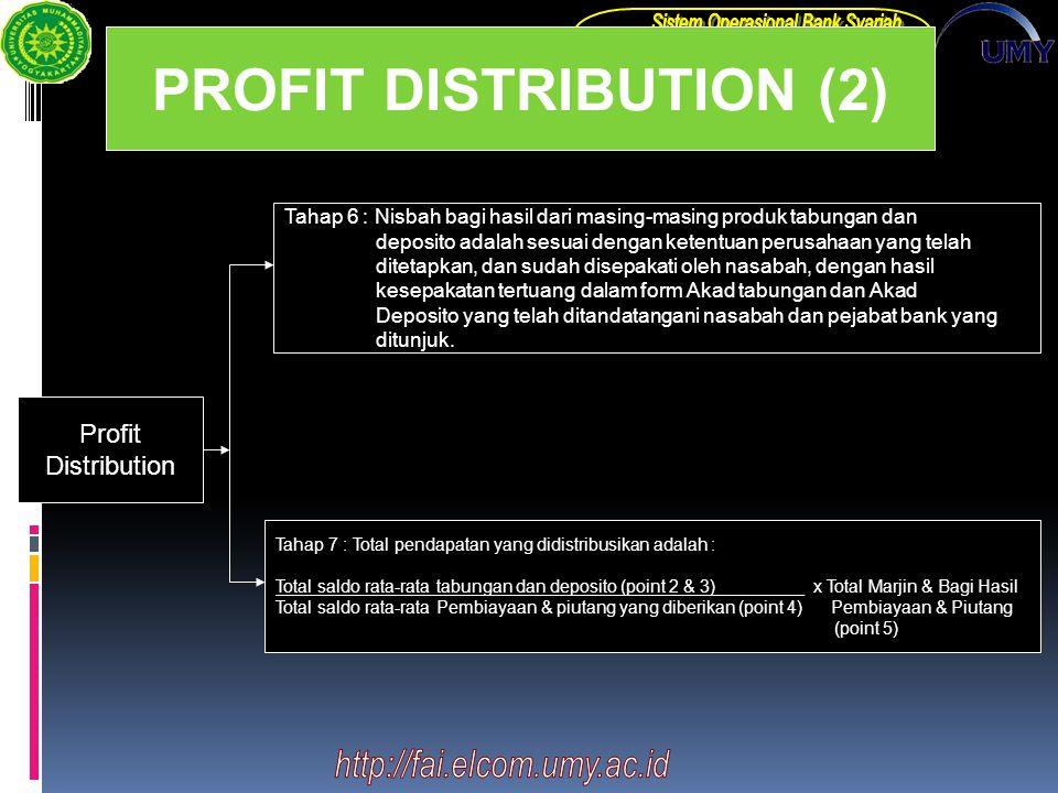 PROFIT DISTRIBUTION (2)